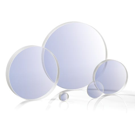 PW1-UV: Laser Grade Round Windows, Fused Silica