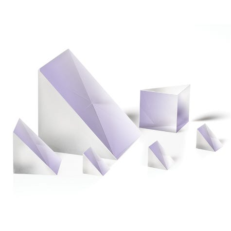 RAP-UV: Uncoated Right Angle Prisms, Fused Silica