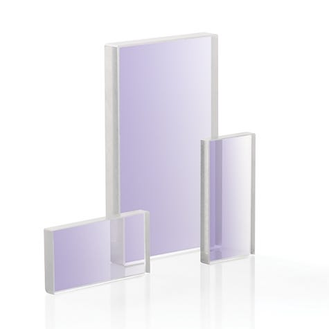 RW-UV: Fused Silica Optical Windows, Laser Grade, Rectangular